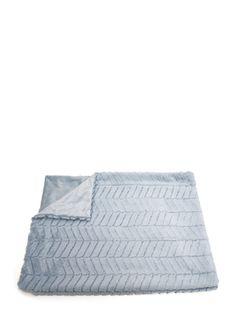 On ideeli: THRO Aiden Chevron Baby Throw #thro #throbyml #marlolorenz #babythrows #baby #throws #kids #babies #gifts #soft #cuddle #blanket #crib #home #decor #design #fashion #style #like #follow #love #snuggle #shop #buy #ideeli #sale