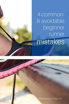 4 common and avoidable beginner runner mistakes | If you're new to running take a look at these tips to help you get started in a way that's comfortable, injury free and makes for a fun experience. | #runningtips #beginnerrunner #newrunner #running Running Routine, Running Plan, Running Tips, Running Training Programs, Race Training, Running Motivation, Marathon Motivation, Fitness Motivation, Health And Wellness Coach