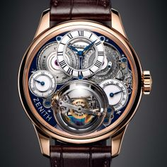 Zenith Academy Christophe Colomb Hurricane grand voyage. Lovely. Super Watch Bhagwan