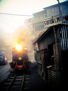 the toy train@Darleeling, India