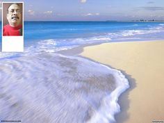 Praia de fundo para twitter. Para personalizá-lo com sua foto. - fotoefeitos.com Happy Diwali Pictures, Twitter, Beach, Outdoor, Photomontage, Backgrounds, The Beach, Happy Friday The 13th, Hilarious Animals