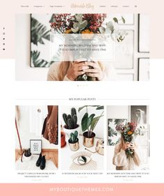 Premium WordPress Theme – Just another WordPress site Website Design Inspiration, Blog Website Design, Website Themes, Blog Design, Design Ideas, Website Ideas, Design Web, Design Trends, Wedding Website Design