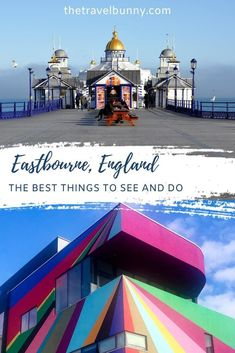 A guide to exploring Eastbourne, East Sussex. What to see and do in Eastbourne on England's south coast, where to stay, coastal walks, fortresses, piers and bandstands #Eastbourne #EastSussex #travelguide Travel Advice, Travel Guides, Travel Tips, Uk Holidays, Weekend Breaks, East Sussex, Beautiful Places To Visit, Ireland Travel, Holiday Destinations