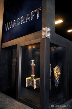Behold The Warcraft Movie's Doomhammer, Lion Shield, And Dragon Sword