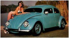 VW pin up girl