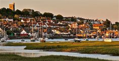 Leigh-on-sea, Essex UK. Lovely little seaside town which is home when we are in England. Miss all of them!