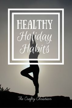 The holiday season can be so stressful, can't it?  We can implement healthy holiday habits to help minimize any stress and maintain optimal health throughout the season of indulgences!