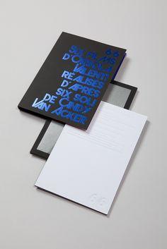 Design by Akatre, Coffret double DVD de la chorégraphe Cindy Van Acker, 2015