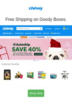 Best deals and coupons for Chewy