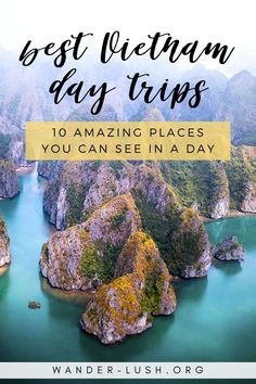 The 10 best Vietnam day trips from Hanoi, Ho Chi Minh City (Saigon), Danang and Hoi An. Perfect if you're visiting Vietnam on a tight schedule. Visit Vietnam, Vietnam Travel, Asia Travel, Travel Pics, Travel Ideas, Amazing Destinations, Travel Destinations, Ho Chi Minh City, Hanoi