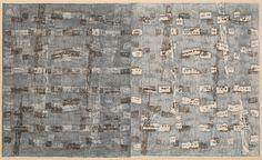 Rebecca Salter - Weft II - Woodblock on Japanese paper