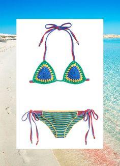 Bikini e costumi all'uncinetto, la moda estate 2016 ti vuole hippie e free -cosmopolitan.it