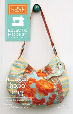 Inflight Hobo Bag Pattern