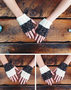 Whichaway Mitts free knitting pattern from Fringe Association