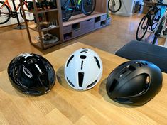 KASK Utopia Aero helmet are here! First launch batch, we only got 5 in total, three colours Black Matte/ Shiny Black with White/ Shiny… Bike Helmets, Product Launch, Home Appliances, Colours, The Originals, Black, House Appliances, Kitchen Appliances, Black People
