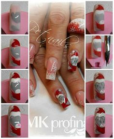 Nail art , step by step