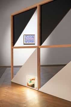 """Vincent Meessen and Thela Tendu """"Patterns for (Re)cognition"""" at Kunsthalle Basel, 2015"""