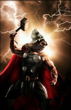 Thor by Scott Harben
