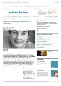 20130228-voedselcrisis-bedreigt-de-menselijke-beschaving-het-financieele-dagblad by Wouter de Heij via Slideshare