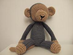 les doudous sans visage: le singe au crochet
