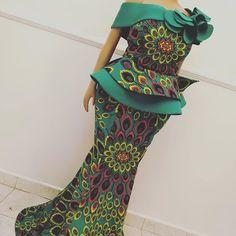 Amazing ankara designs for ladies - DarlingNaija Modern African Print Dresses, African Lace Styles, African Lace Dresses, Trendy Ankara Styles, African Dresses For Women, African Attire, African Fashion Ankara, Latest African Fashion Dresses, African Print Fashion