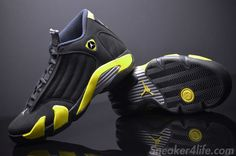 "Air Jordan 14 ""Thunder"" (New Images) 