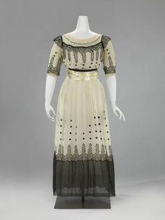 Dress  c.1916-1919  The Netherlands  Rijksmuseum
