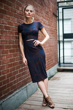 Marie Pier Morin, Fashion And Beauty Tips, Fashion Looks, Female Names, Style Challenge, Spring Summer Fashion, Feminine, Short Sleeve Dresses, Celebs
