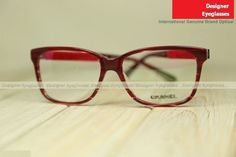 5c7317c5dad Chanel 3262 optical women near-sighted glasses mottled red