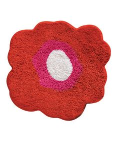Take a look at this Red Poppy Bathroom Mat by InterDesign on #zulily today! $17 !!