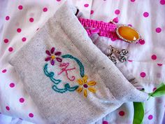 DIY small pouch