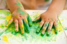 Come fare colori a dita per dipingere con i bambini - Non sprecare www.archtonia.altervista.org