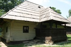 Traditional house from Moldova folk area Moldova, Traditional House, Folk, Houses, Outdoor Structures, House Design, Colorful, Rustic, Architecture