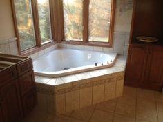 Master Bathtub Tile Surround Ideas On Pinterest Corner