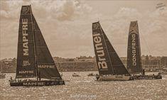 Kite Board, Volvo Ocean Race, Auckland New Zealand, Sail Boats, Dinghy, Yachts, Kayaking, Brazil, Sailing