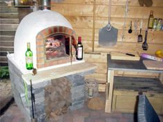 Indoor Pizza Oven Fireplace Combo | Indoor Wood Fired Pizza Ovens ...