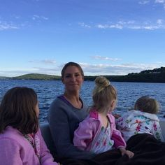 Stephanie McMahon on vacation with her three daughters, Aurora Rose, Murphy Claire, and Vaughn Evelyn Levesque