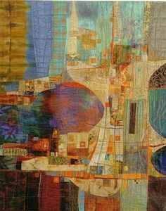 This is a quilt! Her work is so incredible  Rosalie Dace