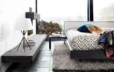 Modern Bedroom Furniture - Contemporary Bedroom Furniture - BoConcept (the bed!)