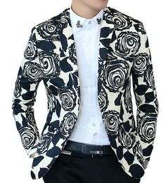 The perfect spring/summer blazer - vibrant and upscale, but not too loud. Sport this with black slacks and a casual or professional dress shirt.
