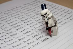"""""""Vader is always right""""   Star Wars Storm Trooper"""