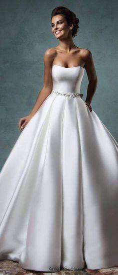 Wonderful Perfect Wedding Dress For The Bride Ideas. Ineffable Perfect Wedding Dress For The Bride Ideas. 2016 Wedding Dresses, Bridal Dresses, Gown Wedding, Dresses 2016, Tulle Wedding, Ball Dresses, Ball Gowns, Evening Dresses, Prom Dresses