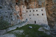 Monastery of St. Dimitrios from the 11th century in Argolis, Greece.