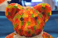 This is a gummy bear made out of gummy bears...Your argument is invalid.