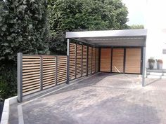 with further privacy. Found at Carport with further privacy. Found at Carport with further privacy. Found at Carport Garage, Pergola Carport, Deck With Pergola, Pergola Shade, Pergola Kits, Car Garage, Garage Room, Attached Pergola, Diy Pergola