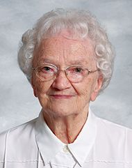 """(1914-2016)  Joy is the echo of Christ's life within us.   Baptized Kathleen Phillips, Sister Maura was born on April 25, 1914, in Defiance, Ohio. She was the third and last child born to James and Catherine (O'Donnell) Phillips. """"I was blessed,"""" Sister Maura wrote her in autobiography, """"with a wonderful mother and father. I never remember hearing an unkind word in our home."""" She went on to describe her family.  My father, a strict puritanical Protestant, was born in Ada, Ohio, in 1877. He…"""