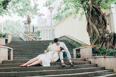 Beautifully Vulnerable   Macau   Pre-wedding   Engagement   Casual   Short hair bride   http://brideandbreakfast.hk/2016/05/02/beautifully-vulnerable/