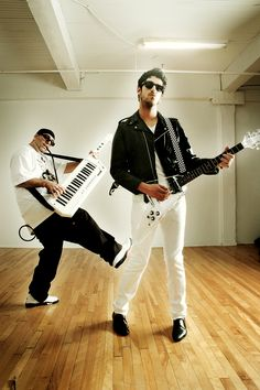 We'll meet up on the floor, and maybe do the twerk. But show me what you got in terms of Fancy Footwork. Chromeo