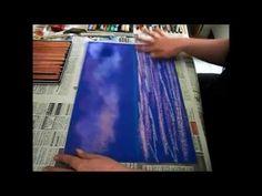 Pastellmalerei -  verwischen, fixieren, Grundwissen zum malen mit Pastellkreide. Weitere Ratgeber finden Sie auf meiner Homepage http://www.multi-kreativ.de Ihre Anke Franikowski