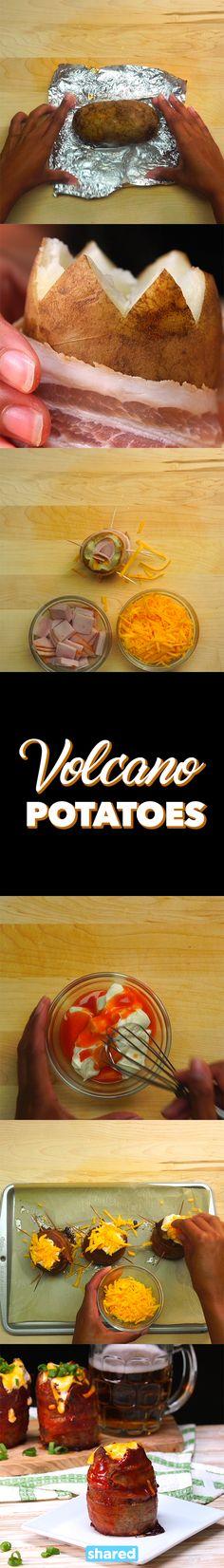 Volcano Potatoes